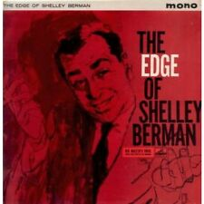 SHELLEY BERMAN Edge Of LP VINYL 5 Track Maroon/Gold Label Issue Mono Pressing