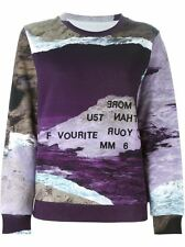 MM6 Maison Martin Margiela Multi Color Digital Print Sweater