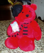 New with Tag Hallmark Red Plush 17