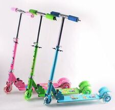Kids 3 Wheeler Foldable Height Adjustable Scooter with Break & Bell best quality