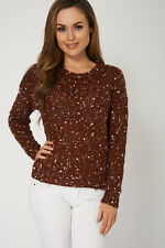 NEW WOMENS GORGEOUS Stylish Jumper With Decorative Details SIZES S M L XL