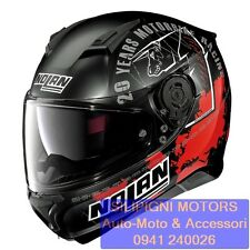 NOLAN N87 ICONIC REPLICA N-Com 34 C.CHECA FLAT BLACK Casco Integrale  Moto