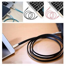 Data Sync Charging Cable Line USB To Micro Zinc Alloy Head For iPhone Android UK