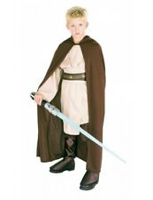Child JEDI ROBE Star Wars Fancy Dress Hooded Costume Kids Outfit Boys Book Week