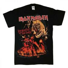 CAMISETA CHICO ROCK IRON MAIDEN/IRON MAIDEN MEN T-SHIRT THE NUMBER OF THE BEAST