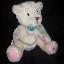 Hallmark White Teddy Bear Plush 7