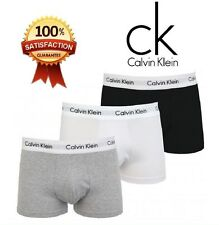 Authentic Calvin Klein 3 Packs CK Boxers Shorts Men's Trunks Brief Underwear
