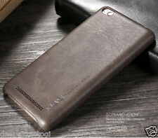 X Level Soft Genuine Leather Back Cover - Vintage Series For XIAOMI REDMI 3S