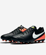 Football shoes Nike Scarpe Calcio Tiempo Rio III FG Nero arancio