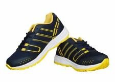 Kacey Men's Black and Yellow Sports Shoes (KIS_267)