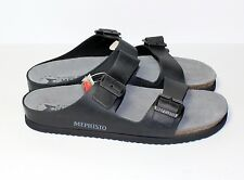 BNIB Mephisto Norman, Gents Sandals in Black Leather