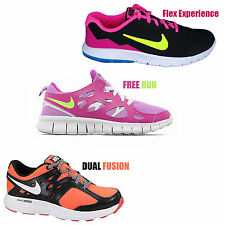 Nike Free Run Flex Womens Trainers Ladies Running Sports Fitness Gym Jog Shoes