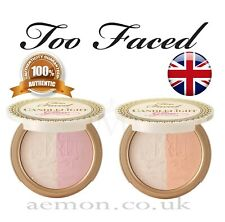 Too Faced Candlelight Glow highlighting powder duo,rosy,warm,10g,original