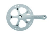 PROWHEEL Crankset square Solid with chainguard 46T x 3/32 x 170 mm white