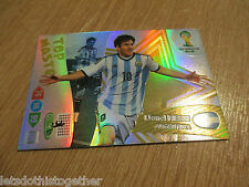 Panini Adrenalyn XL World Cup Brasil 2014 - LIONEL MESSI TOP MASTER Match Attack