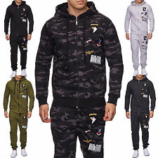 Herren Jogging-Anzug Patches, Trainings-Anzug, Trainings-Jacke, Jogging-Hose