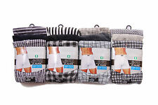 New Mens Classic Cotton Polyester Boxer Shorts 3 - 12 Pairs Underwear Trunks UK