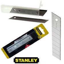10x9mm 10x18mm Stanley Snap Off Heavy Duty Craft Trimming Knife Handle Blades