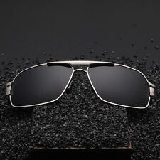 HD Mens Polarized sunglasses Driving glasses Aviator outdoor Sports Eyewear Hot