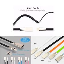 For iphone and android FAST CHARGING 2 in 1 Lightning micro usb charging cable