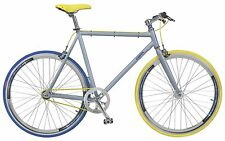 "28"" FIXED GEAR FAHRRAD COPPI SCATTO FISSO ALUMINIUM SINGLESPEED FIXIE HERRENRAD"