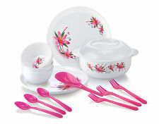 Joyo Fiesta Microwave Safe Dinner Set - 14 pcs (JFIMWD14PTD)