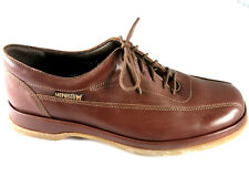BNIB Mephisto Agosto Men's Lace-Up Shoe in Brown Leather