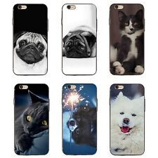 3D Animaux Chien Chat Coque pour iPhone 6 7 Plus Samsung Galaxy S6 S7 Exquis
