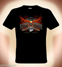 T-Shirt motard LIVE TO RIDE, Américain Pride ( bis Taille 5XL possible