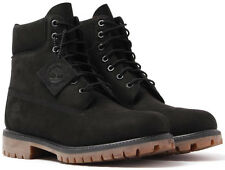 Timberland 6 Inch Classic Mens Waterproof Leather Boots Black