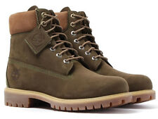 Timberland 6 Inch Classic Mens Waterproof Leather Boots olive
