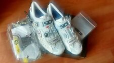 Sidi 50th Anniversary Ergo 2 carbon Lite LE road cycling shoes, size EUR 45