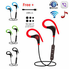 Wireless Bluetooth Headset Sports Stereo Earphone Headphone For IPhone Samsung