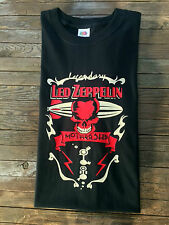 Led Zeppelin Inspired T-Shirt Mothership Skull Metal Shirt Rock Page Plant