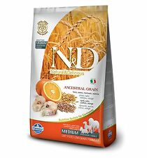 Farmina ND Low Grain Ancestral Merluzzo Arancia Adult Medium 8010276021465