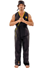 Mens Viper Kai Karate Fancy Dress Costume Martial Arts Ninja Outfit