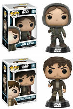Funko Pop! Vinyl Star Wars Rogue One 150 Jyn Erso or 151 Captain Cassian Andor