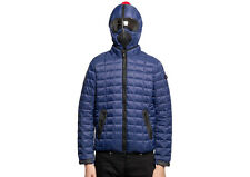 AI RIDERS ON THE STORM GIUBBOTTO UOMO PIUMINO INK BLUE QUILTED JACKET JM103MCD4