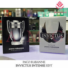 PACO RABANNE INVICTUS INTENSE NUOVO PROFUMO UOMO MEN HIM HOMME EDT 50ML - 100ML