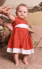 Handmade Baby Girl Dress Newborn Baby Dress Infant Baby Clothes Toddler Outfit