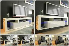 NEW 2017! Superb TV Stand Unit Cabinet 160cm + Floating / Standing + Gloss + LED