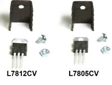 L7805CV +5V or L7812 +12V Voltage Regulator / TO-220 with or without HEATSINKS