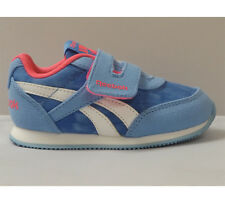 Infant Reebok Royal Classic Jogger Galaxy/Solar Pink Strap Trainers RRP £29.99