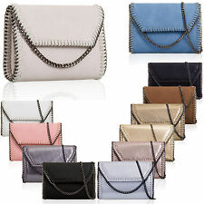 Women Clutch Synthetic Prom Party Ladies Evening Bag Faux Leather UK