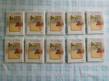 Laurel Ink Book Plate (10) Boxes Of 20 Adhesive Backed Flower Bird Ex Libris