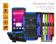 Alcatel Pixi 4 (6) 3G / 8050 - Shockproof Heavy Duty Stand Case Cover & Mini Pen