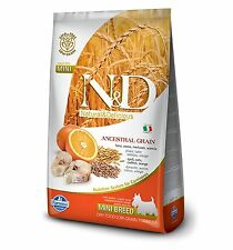 Farmina ND Low Grain Ancestral Merluzzo Arancia Adult Mini 8010276022035