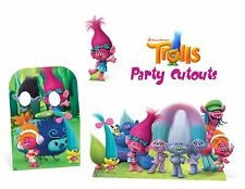 TROLLS BIRTHDAY PARTY LIFE SIZED CUTOUTS FOR PHOTO DECORATIONS