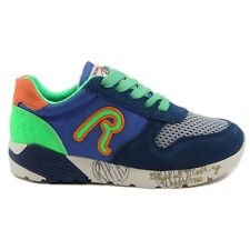 Replay Kinderschuhe Sneaker Manor GBS180004S Royal/Fluo Green