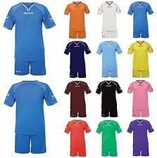 KIT CAPO GIVOVA CALCETTO CALCIO SPORT FOOTBALL PALESTRA FITNESS GARA ALLENAMENTO